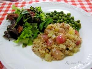 Quinoa com uva
